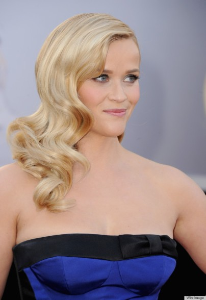 HOLLYWOOD, CA - FEBRUARY 24: Actress Reese Witherspoon arrives at the Oscars at Hollywood & Highland Center on February 24, 2013 in Hollywood, California. (Photo by Steve Granitz/WireImage)