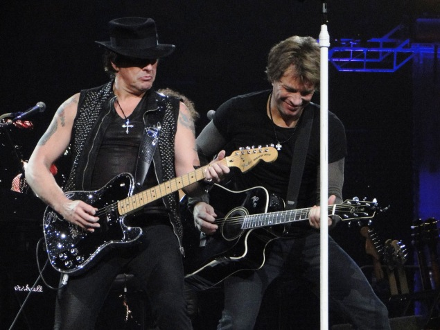 Robert Kantor Sambora con Bon Jovi